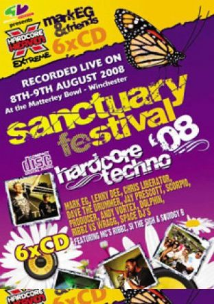 Sanctuary Festival 2008 - Hardcore Techno pack